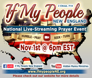 If My People NE, National Live-Streaming Prayer Event @ Online