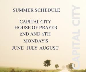 Capital City House of Prayer -- Summer 2021 @ United Baptist Church